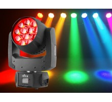 Chauvet 2% OFF, 8+ Intimidator Wash Zoom 450 IRC - 12x15 W quad-color RGBW LEDs