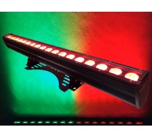 Light Emotion LEDBAR1812 LED Bar Outdoor IP65 1m Wash Light 18 x 12w RGBWAUV 6-in-1 LEDs