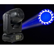 Event Lighting M1S75W Moving head profile spot 1 x 75W LED, colour wheel, rotating gobo wheel, 3/8 facet prism, frost, dimmer, strobe, RDM