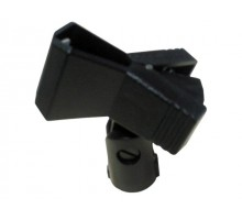 SoundKing MICHS Plastic Mic Clip - Spring Loaded. Used to attach a microphone to the mic stand. Also suitable for wireless mics