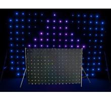 Chauvet MOTIONDRAPE LED 2x3m LED Curtain with 176 3-in-1 RGB LEDs