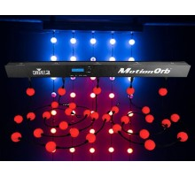 Chauvet MOTIONORB Decor Light using 55 individual Colour Changing LED Orbs