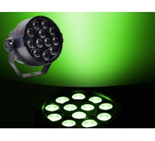Light Emotion VIVID0312 Compact LED Par can 12 x 3W RGB 3-in-1 LED, DMX.