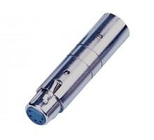 SoundKing XM3XF52 2 PACK XLR 3-M to XLR 5-F Adapter