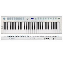 Condition: New - Ultra-Thin 49 key mobiltone keyboard - White - Clearance Item