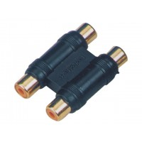 SoundKing RFRF22P 2 PACK Double RCA-F to Double RCA-F Adapter