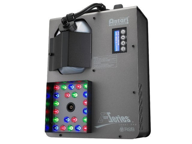 Home & Antari Z1520 1500W Fog Jet with 22x3W RGB LEDs and DMX