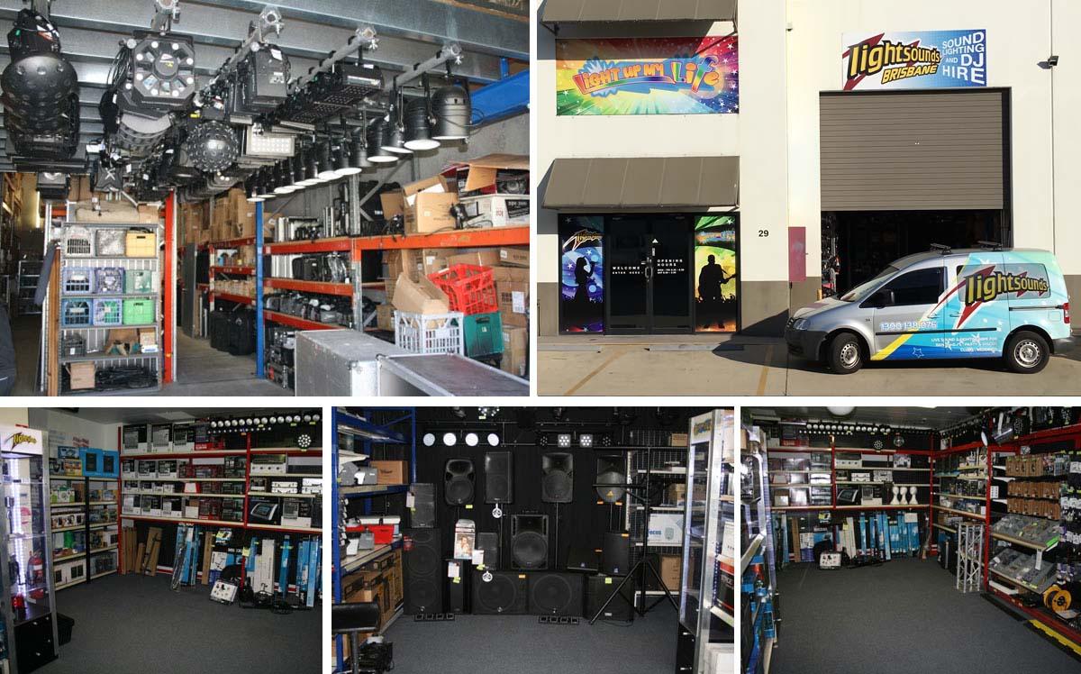 Lightsounds Brisbane | DJ, Audio and Lighting Equipment Supplier