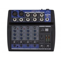 Wharfedale CONNECT802USB Connect802 micro-mixer with USB, 8 inputs, 2 outputs