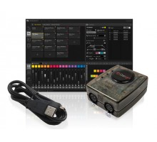 Daslight DASGZM GZM full suite software based DMX controller with Ethernet