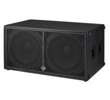 "Wharfedale DELTA218B Double 18"" Passive 1600W RMS Subwoofer. 2 high output, low distortion 18"" cast frame woofers with 3"" voice coils."