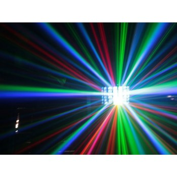 Light Emotion DERBY2 2-in-1 Laser and Derby Effect. 1 30W 4-in-1 LED, 150mW red, 50 mW green laser