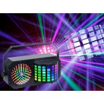 Light Emotion DERBY3 3-in-1 Lighting Effect: Derby, LED Strobe and flood light and RGB Laser