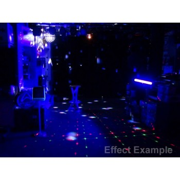 Light Emotion ENT1 Disco Light Pack 1 package: 2 x DERBY2, 1 x LEDBALL6, 2 x UVBAR