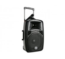 "Wharfedale EZ15A PORTABLE PA, 15"", dual wireless mic"