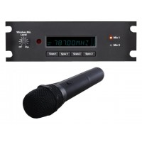 Wharfedale EZGORDM Dual Channel Wireless Microphone receiver module for EZGO (644 to 665MHz) with wireless microphone