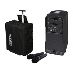 Wharfedale EZGOWU2 EZGO Package with two wireless hand held mics and USB player