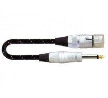 SoundKing FCMJML5 XLR 3-F to TS-M 6.5mm Jack Signal Lead (5m)