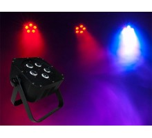 Light Emotion FLAT0505 Flat LED Wash 5 x 5W 4-in-1 RGBW LEDs