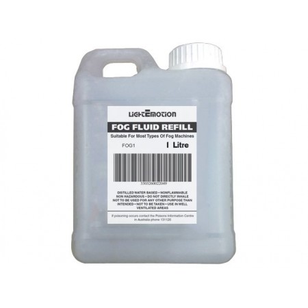 Light Emotion FOG1 1 Litre Smoke Fluid