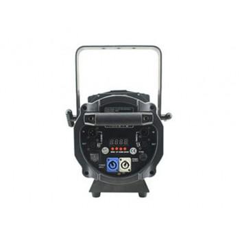 Light Emotion Professional FRES200RGBW 200w RGBW LED Fresnel with Barn Doors. 15-55 degree zoom