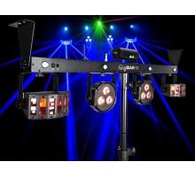 Chauvet GIGBAR2 DJ Gig Bar 2 - 4 in 1 light with 2 Derbies, 2 pars a laser and strobe all in one bar.