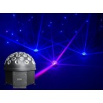 Light Emotion HALFBALL Rotating LED DMX half ball - 5 x 3W RGBWA LED