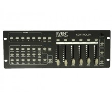 Event Lighting KONTROL36 6 x RGBWAUV fixture DMX controller