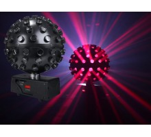 Light Emotion LEDBALL6 LED Rotating Ball 5 x 15W HEX (6-in-1) RGBWAUV LED - Mirror Ball effect