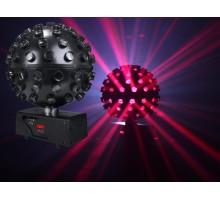Light Emotion LEDBALL6 LED Rotating Ball 5 x 15W HEX (6-in-1) RGBWAUV LED - Mirror Ball effect