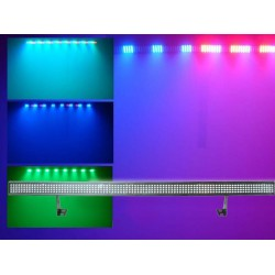 Light Emotion LEDBAR LED BAR 1m Wash Light 35w RGB 384 LEDs. DMX, Sound active, built in programs.