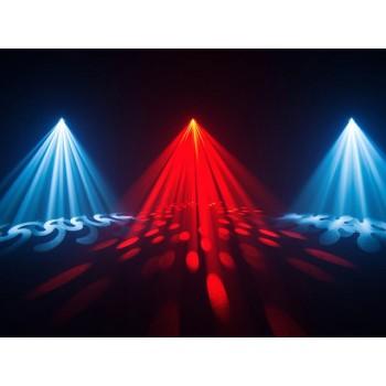 Light Emotion Professional LEP150B 150W LED Moving Head - 11 colours, 17 gobos, prism. Spot & beam.