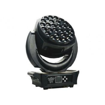 Light Emotion Professional LEP2825Z Supernova LED Wash Zoom Moving Head - 28 x 25w RGBW LEDs.