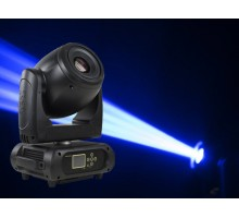 Event Lighting M1S150W Moving head profile spot 1 x 150W LED, colour wheel, rotating gobo wheel, 3/8 facet prism, frost, dimmer, strobe, RDM