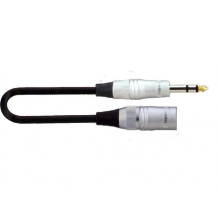 SoundKing MCMJSL10 XLR 3-M to TS-M 6.35mm Jack Signal Lead (10m)