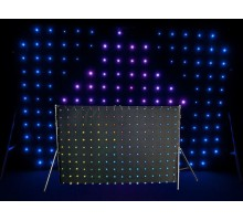 Chauvet MOTIONDRAPE LED 2x3m LED Curtain with 176 3-in-1 RGB LEDs