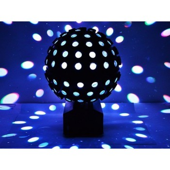 ORBE 30CM LED Rotating LED Ball RGBW