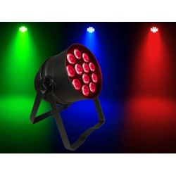 Light Emotion P645QUADB2 LED Par 64 Can 12x5W RGBW Quad LEDs - Black.