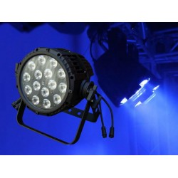 Light Emotion P645QUADO LED Outdoor IP65 Par 64 Can 15x5W RGBW Quad LEDs