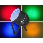 Light Emotion P64LED LED Par 64 RGB DMX 30W 183 LEDs - Black: Piggy Back Plug, double yoke, digital display