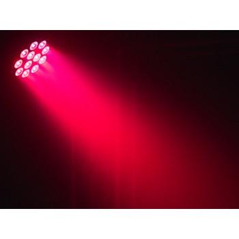 Event Lighting PAR12X8L 12x 8 W LED RGBWAU LED Parcan with IR Remote