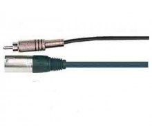 SoundKing RCA2C RCA - Male 3 Pin XLR Signal Lead 7m