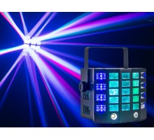 Event Lighting SABER 2 x 15W RGBW, 24 lens rotating multi beam effects