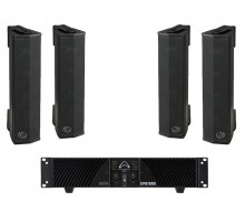 Wharfedale SIGMAV4P1 4 x SIGMAV4 Installation Speakers, 1 X CPD1000 Power Amp