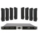 Wharfedale SSIGMAV4P2 8 x SIGMAV4 Installation Speakers, 1 x DP4035 Power Amp