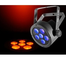 Chauvet SLIMHEX6 Low Profile 6 x 6-in-1 RGBWAUV 10W LED fixture