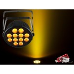 Chauvet SLIMPARQ12U Slim Par 12x 4-in-1 4W QUAD LEDs with USB D-Fi Compatibility