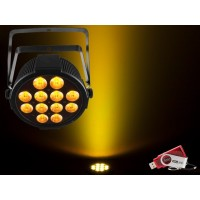 Chauvet SPECIAL PRICE ONE OFF Slim Par 12x 4-in-1 4W QUAD LEDs with USB D-Fi Compatibility