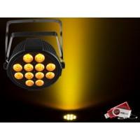 Chauvet SLIMPARQ12U Slim Par 12x 4-in-1 4W QUAD LEDs with USB D-Fi Compatibility