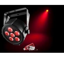 Chauvet SLIMPARQ6U Slim Par 6x 4-in-1 4W QUAD LEDs with USB D-Fi Compatibility